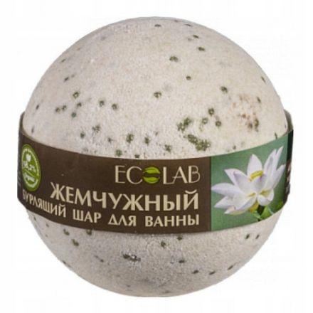 ECO Laboratories – Musująca kula do kąpieli biały Lotos – 220g