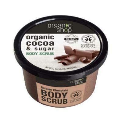 Organic shop- organiczny scrub do ciała Belgijska czekolada - 250ml!❤