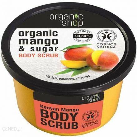 Organic shop - Scrub do ciała, kenijskie Mango - 250ml!
