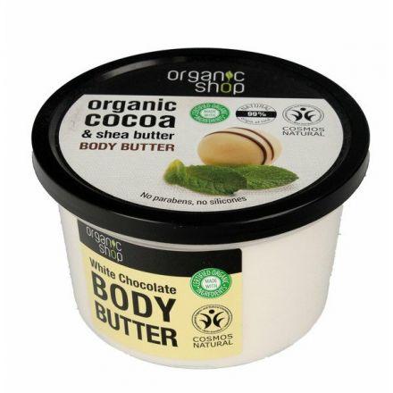 Organic shop – Masło SHEA do ciała z białą czekoladą! 250ml!❤