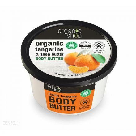 Organic Shop - Shea butter for the body - Mandarin
