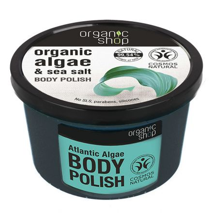 Organic shop – peeling do ciała, algi morskie i sól morska! 250ml!❤