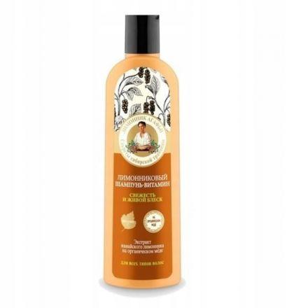 Agafia Granny Recepten - Lemon Hair Shampoo - 280ml