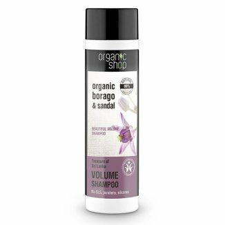 """Organic Shop – szampon zwiększający objętość, """"Skarby Sri Lanki""""! 280ml!❤"""