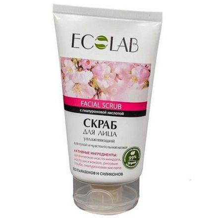 Eco Laboratorie - Nawilżający scrub do twarzy, do skóry suchej i wrażliwej! 150ml