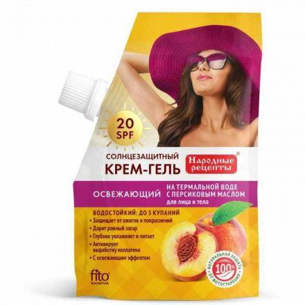 Fitokosmetik - Wodoodporny krem do twarzy i ciała SPF 20! 50ml