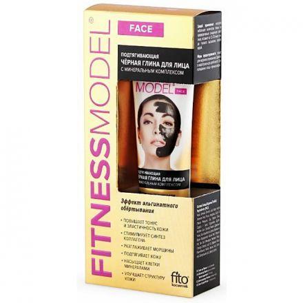 Fitness-Model---Innowacyjna-podciagajaca-maska-do-twarzy---Czarna-glinka-i-Kompleks-mineralow---Fitocosmetic---45-ml-shamanka drogeria nl cosmeticland