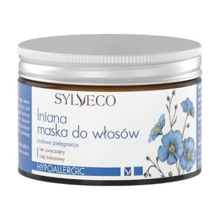 Sylveco - Lniana maska zekstraktem z nasion lnu zwyczajnegoiolejem kokosowym! 150ml