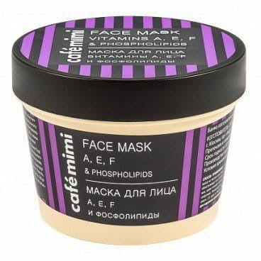Le Cafe Mimi - Maska do twarzy witaminy A,E,F i fosfolipidy- odmładzająca, regenerująca! 110ml