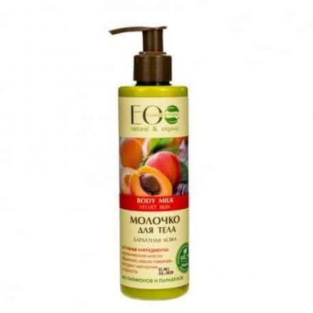 "Eco Laboratories - Body milk ""Velvet skin"", 98% natural components! 250ml"