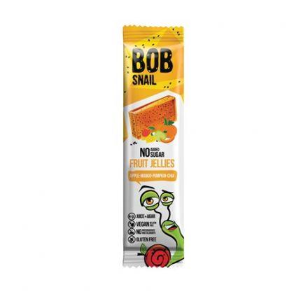 BOB SNAIL - Przekąska - galaretkowa jabłko-mango-dynia-chia bez dodatku cukru! 38 g