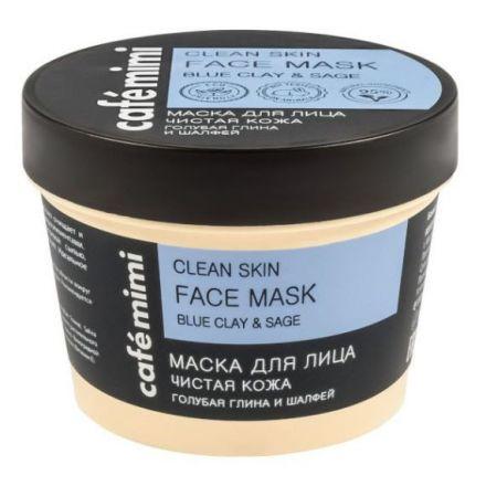 """Cafe Mimi - Clean Skin Face Mask, Maska do twarzy oczyszczająca  """"Czysta Skóra""""! 110ml"""