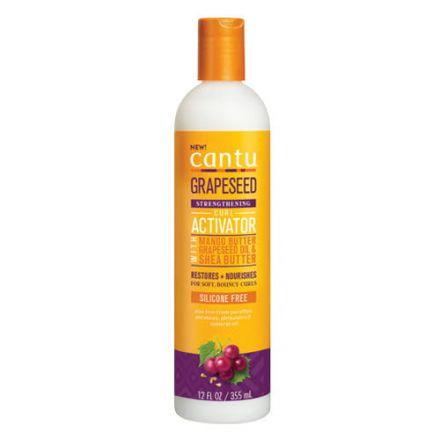 CANTU - Grapeseed Strenghthening Curl Activator - wzmacniająca odżywka bez spłukiwania do loków i fal! 355ml