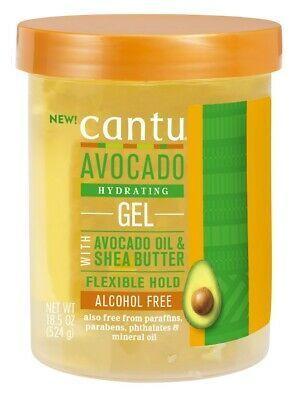 CANTU - Moistrue Retention Styling gel - Żel utrzymujący odpowiednie nawilżenie włosów kręconych i fal! 524ml