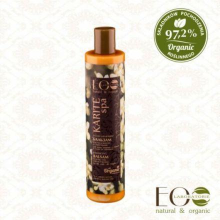"""ECO Laboratorie - """"Karite spa"""" balsam do włosów, normalizujący! 350ml"""