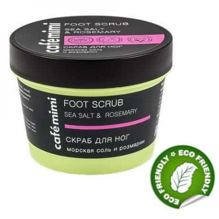 foot scrub sól morska rozmayn