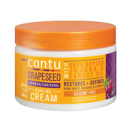 Cantu – Grapeseed Curling Cream - Krem do loków! 340ml