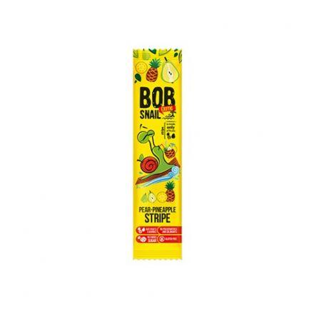 BOB SNAIL - Przekąska gruszkowo-ananasowa bez dodatku cukru 14 g