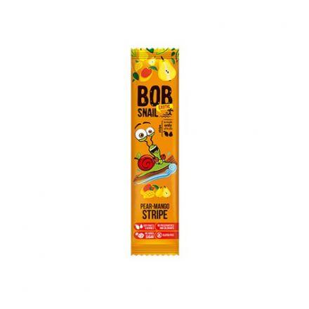 BOB SNAIL - Przekąska gruszka i mango bez dodatku cukru! 14 g