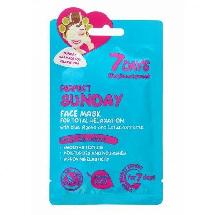 """VILENTA - """"7 dagen"""" Gezichtsmasker, ontspannen - perfecte zondag """"Perfecte zondag""""! 28g"""
