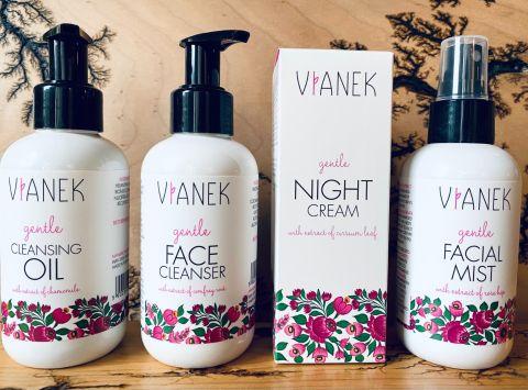 Vianek - Łagodzący zestaw do pielęgnacji zmęczonej skóry! 4 kosmetyki