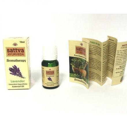 Sattva Ayurveda - Naturalny olejek eteryczny Lawendowy! 10ml