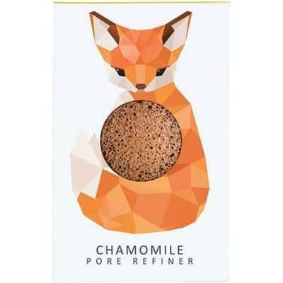 The Konjac Sponge Company - MINI Fox with chamomile for sensitive and irritated skin! 5cm