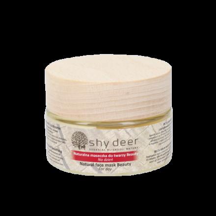 """Shy Deer - Naturalna maseczka odmładzająca do twarzy """"BEAUTY""""! 50ml"""