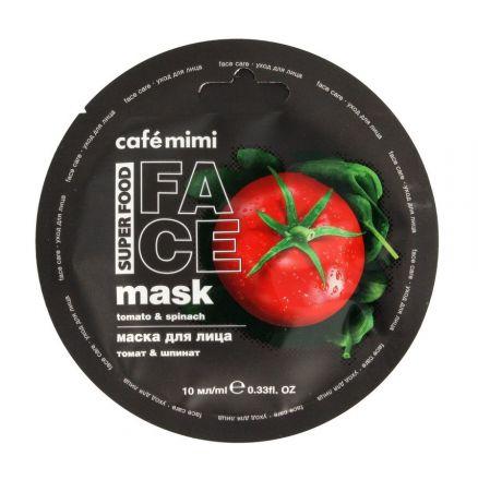 Cafe Mimi - Maska Do Twarzy Pomidor & Szpinak! 10 Ml