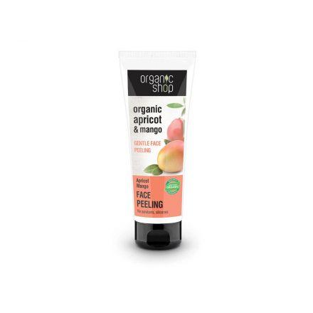 """Organic Shop - Delikatny enzymatyczny peeling do twarzy """"Morela&Mango""""! 75ml"""