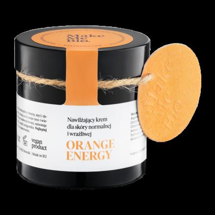 """Make Me Bio - """"Orange Energy"""" - Odżywczy krem do twarzy do skóry suchej i mieszanej! 60ml"""
