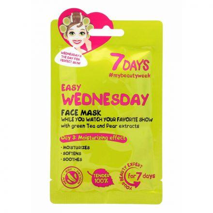 """VILENTA - """"7 dagen"""" Face-to-face masker, hydraterende - gemakkelijke woensdag """"Gemakkelijke woensdag""""! 28g"""