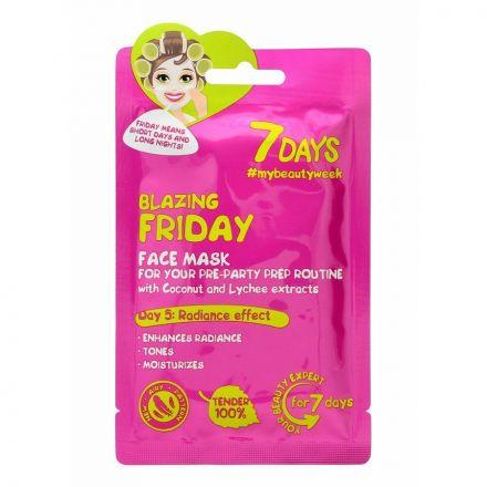 "VILENTA - ""7 dagen"" Face-to-face masker, verhelderend - Spannende vrijdag ""Blazing Friday""! 28g"