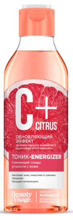 "Fitokosmetik - Energizing facial tonic with vitamin C ""C+"" Citrus"" ANTI AGE! 245ml"