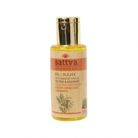 Sattva Ayurveda - Olejek przeciwłupieżowy do włosów! 100ml