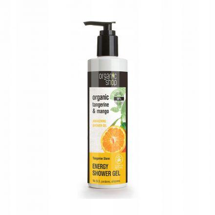 "Organic Shop- Żel pod prysznic ""Tangerine & Mango""! 280 ml"