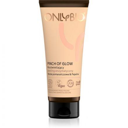 """ONLYBIO - """"Pinch Of Glow"""" Rozświetlający peeling enzymatyczny TUBA! 75 ml"""