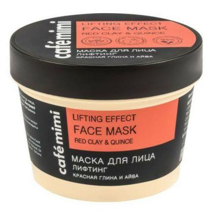 """Le Cafe Mimi -  Liftingująca maska do twarzy """" Pigwa & Czerwona glinka""""! 110ml"""