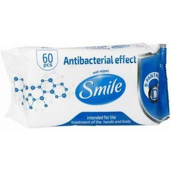 smile-chusteczki-nawilzane-antybakteryjne-z-d-panthenolem-x-60- holandia nl drogeria