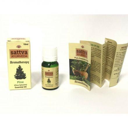 Sattva Ayurveda - Naturalny sosnowy olejek eteryczny! 10ml