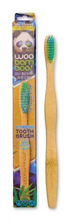"""Woo Bamboo - Biodegradowalna szczoteczka do zębów """"SOFT"""" ! 1szt"""