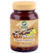 ORGANIC WELLNESS - Triphala - Trzy owoce - oczyszczenie jelit, zaparcia! 90 kapsułek