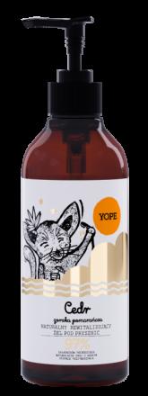 YOPE - Cedr i gorzka pomarańcza naturalny żel do ciała w płynie! 400ml
